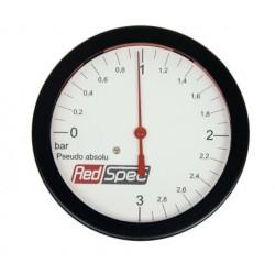 Red Spec Ladedruck Anzeige