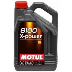 Motul 10W60  X-POWER 8100 5 Liter
